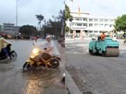Ciudad vietnamita invierte en obras de prevención de inundaciones