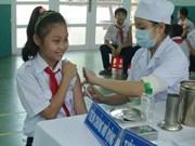 Doce millones de niños vietnamitas vacunados contra rubeola