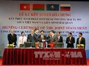 Concluyen negociaciones de TLC Vietnam-Unión Aduanera