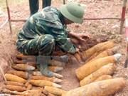 Yen Bai logra desactivar diez mil bombas y minas
