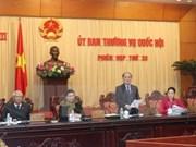 Inauguran reunión de Comité Permanente de Parlamento vietnamita