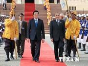 Presidente vietnamita se reúne con rey cambodiano