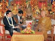 Presidente vietnamita sigue actividades en Cambodia