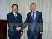 Partidos vietnamita y ruso estrechan cooperación