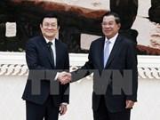 Vietnam y Cambodia ratifican relaciones de buena vecindad