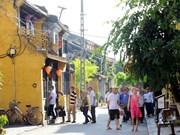 Quang Nam acoge a primeros turistas foráneos de 2015