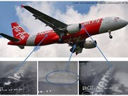 Encuentran parte central del avión accidentado de AirAsia