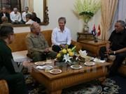 Destaca ministro de Defensa cubano experiencias vietnamitas en renovación