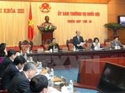 Comité Permanente del Parlamento continúa agenda de trabajo