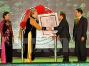 Entrega UNESCO título de Patrimonio Mundial a Trang An