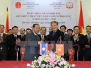 Profundizan Vietnam y Laos relaciones bilaterales