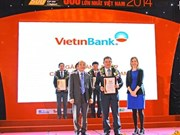 Vietinbank, una de las 20 mayores empresas de Vietnam