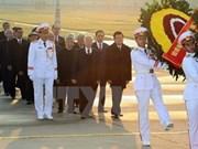 Rinden tributo al Presidente Ho Chi Minh en ocasión de fundación del PCV