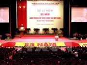 Laos y Cambodia envían felicitación por aniversario del Partido Comunista de Vietnam
