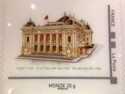 Emiten colección francesa de sellos postales sobre Vietnam