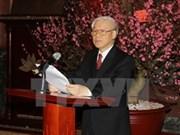 Líder partidista llama a gran unidad nacional en nuevo año