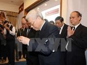 Efectúan acto funeral del alto funcionario partidista vietnamita
