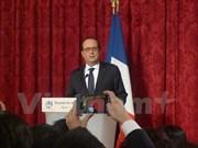 Presidente de Francia, François Hollande, visitará Vietnam