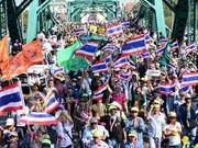 Parlamento tailandés aprueba borrador de ley sobre restricción de protestas