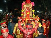 Reeditan procesión de palanquín Ngoc Lo en provincia vietnamita