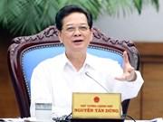 Gobierno vietnamita por mejorar entorno de inversión y competitividad nacional