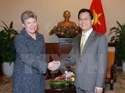 Vietnam coopera con EE.UU. en no proliferación de armas de exterminio