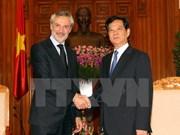 Premier vietnamita aboga por profundizar relaciones con Italia