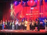 """Amor hacia la Patria en obras candidatas a premios musicales """"Dedicación"""""""
