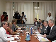 Cuba y UE satisfechas con avance de negociaciones de paz