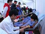 Inauguran octavo festival de donación de sangre en Hanoi
