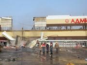 No hay víctima vietnamita en incendio de centro comercial ruso