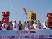 Construyen nueva pista en aeropuerto internacional Cam Ranh en Vietnam