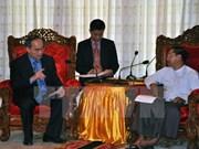 Vietnam corrobora vínculos económicos con Myanmar