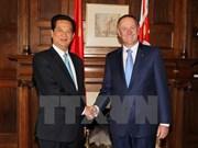 Vietnam y Nueva Zelanda dispuestos a propiciar trasiego mercantil