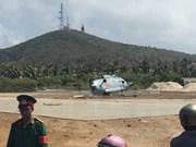 En estado estable soldados heridos en accidente de helicóptero en Vietnam