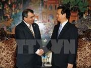 Premier vietnamita recibe al presidente de la IPU