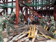 Concluye búsqueda de víctimas por estructura colapsada