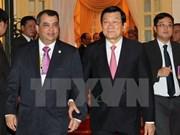 Dirigentes vietnamitas reciben a presidente de IPU