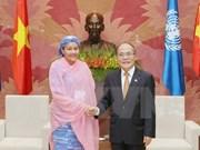 Inician agenda de Asamblea 132 de IPU en Hanoi
