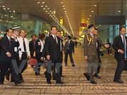 Premier vietnamita asiste al funeral de Lee Kuan Yew