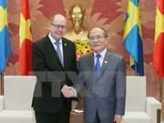 Destaca Vietnam voluntad de estrechar lazos parlamentarios con Suecia