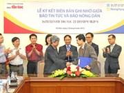 VNA y publicación sudcoreana firman acuerdo de cooperación