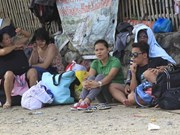 Filipinas evacúa a 24 mil personas por tifón Maysak