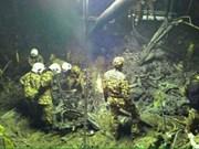 Mueren seis personas en accidente de helicóptero en Malasia