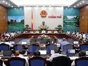 Emiten resolución de sesión ordinaria gubernamental de marzo