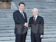Dirigentes vietnamita y chino sostienen conversaciones