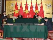 Optimistas altos funcionarios de Vietnam sobre nexos con China