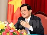 Presidente vietnamita asistirá a Conferencia Asia-África