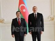 Intensifican Vietnam y Azerbaiyán nexos bilaterales