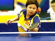 Atleta vietnamita entre los ocho primeros en torneo de tenis de mesa Luxemburgo